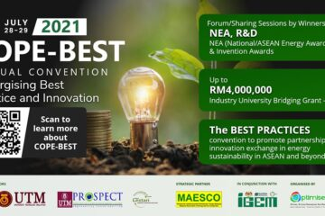 The Top Ten Unique Features of COPE-BEST 2021 - [Virtual] Convention on Promotion of Energy Sustainability Best Practices. Last Five Days to be Part of COPE-BEST 2021. 1